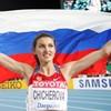 Анна Чичерова выиграла золотую медаль в прыжках в высоту на Чемпионате Мира по легкой атлетике