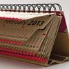 Спички, часы и жалюзи: самые необычные календари на 2013 год