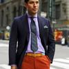 Яркий, но деловитый стиль preppy в мужской одежде